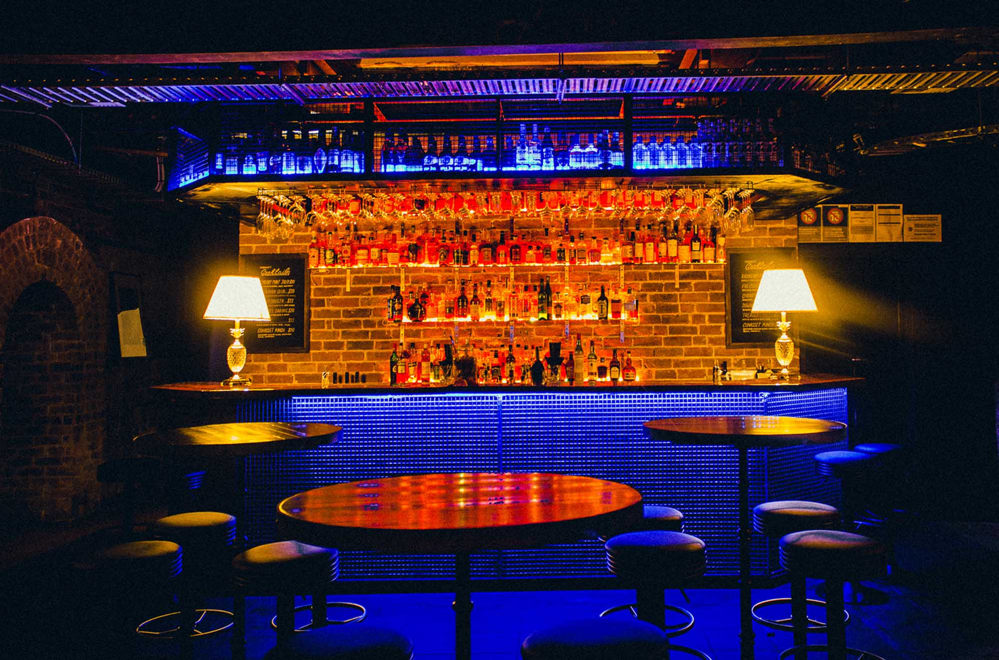 The bar at Memphis Slim's House of Blues. Photo: Talis Heggart Photography
