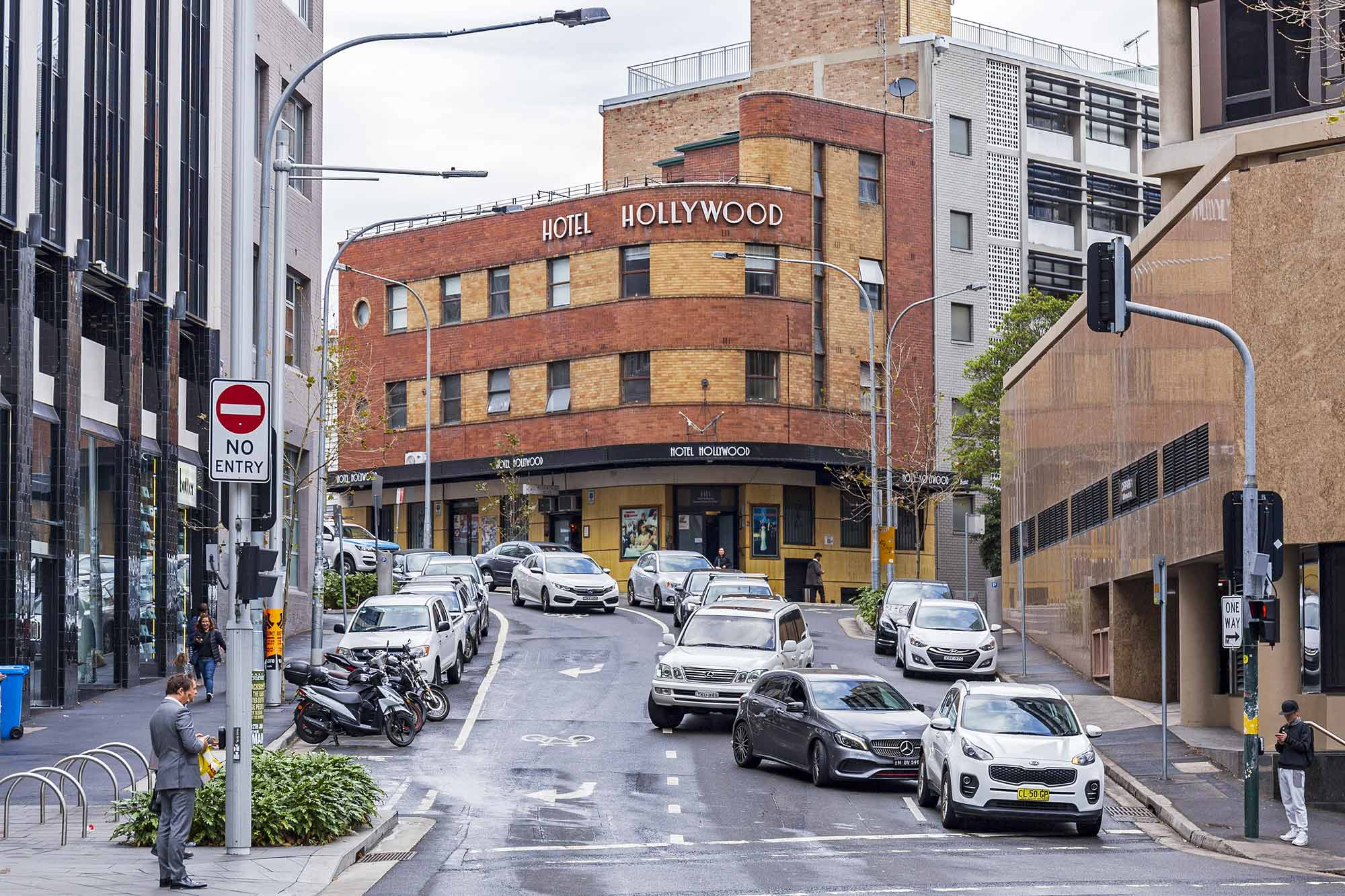 The Hotel Hollywood in Surry Hills. Photo: Wikicommons