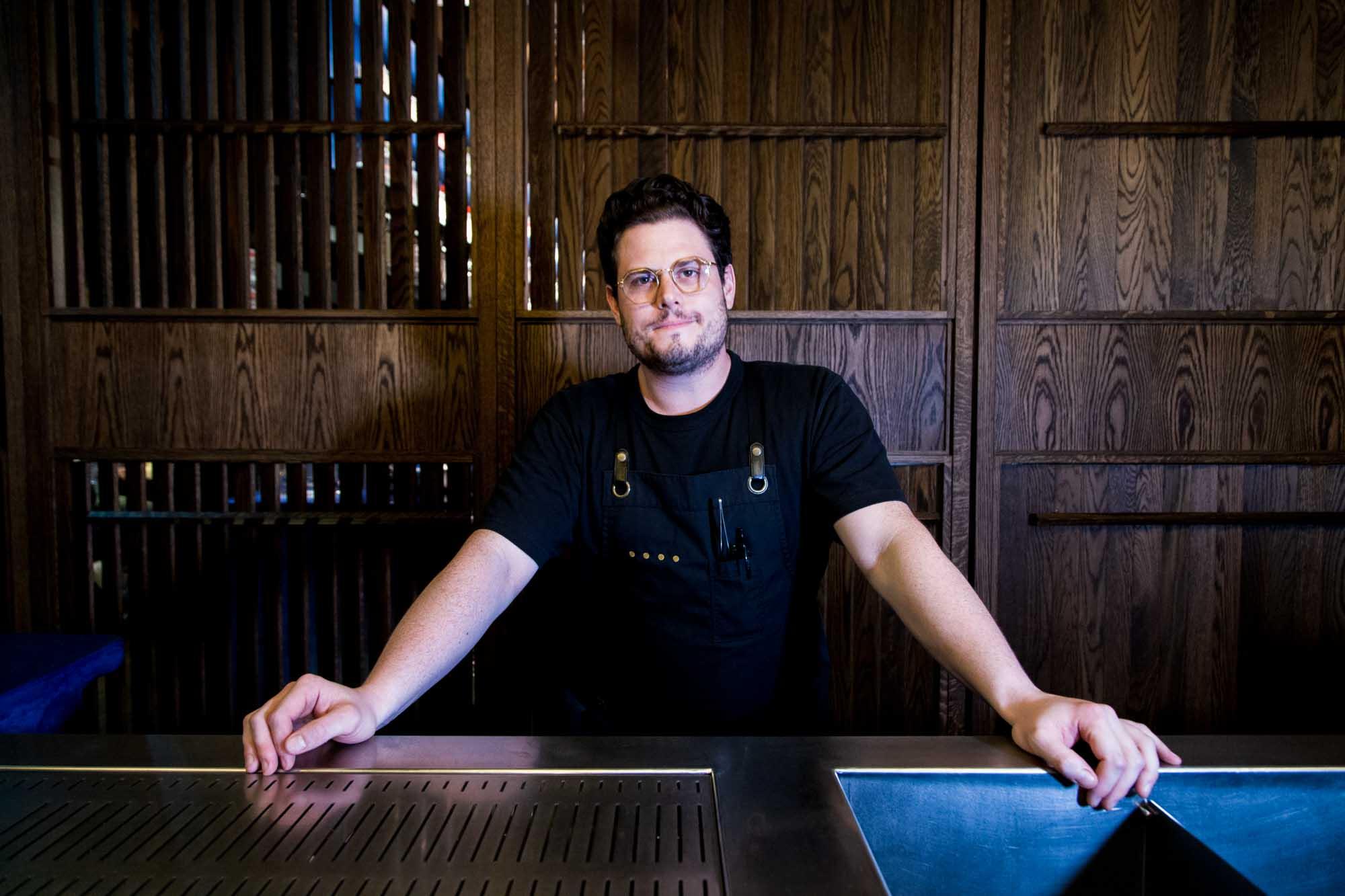 James Irvine at Eileen's Bar.