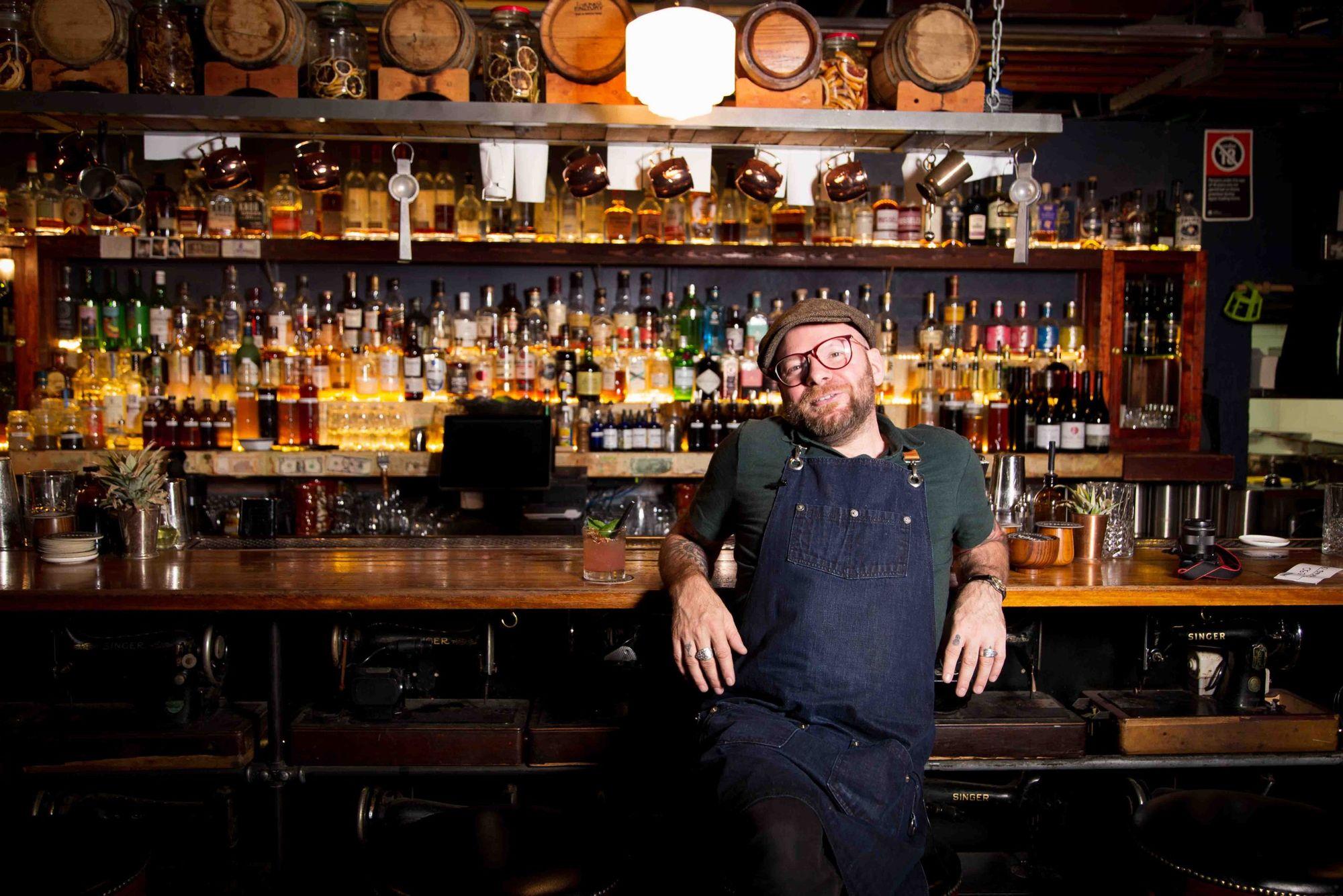 Cristiano Beretta at Stitch Bar, Sydney.