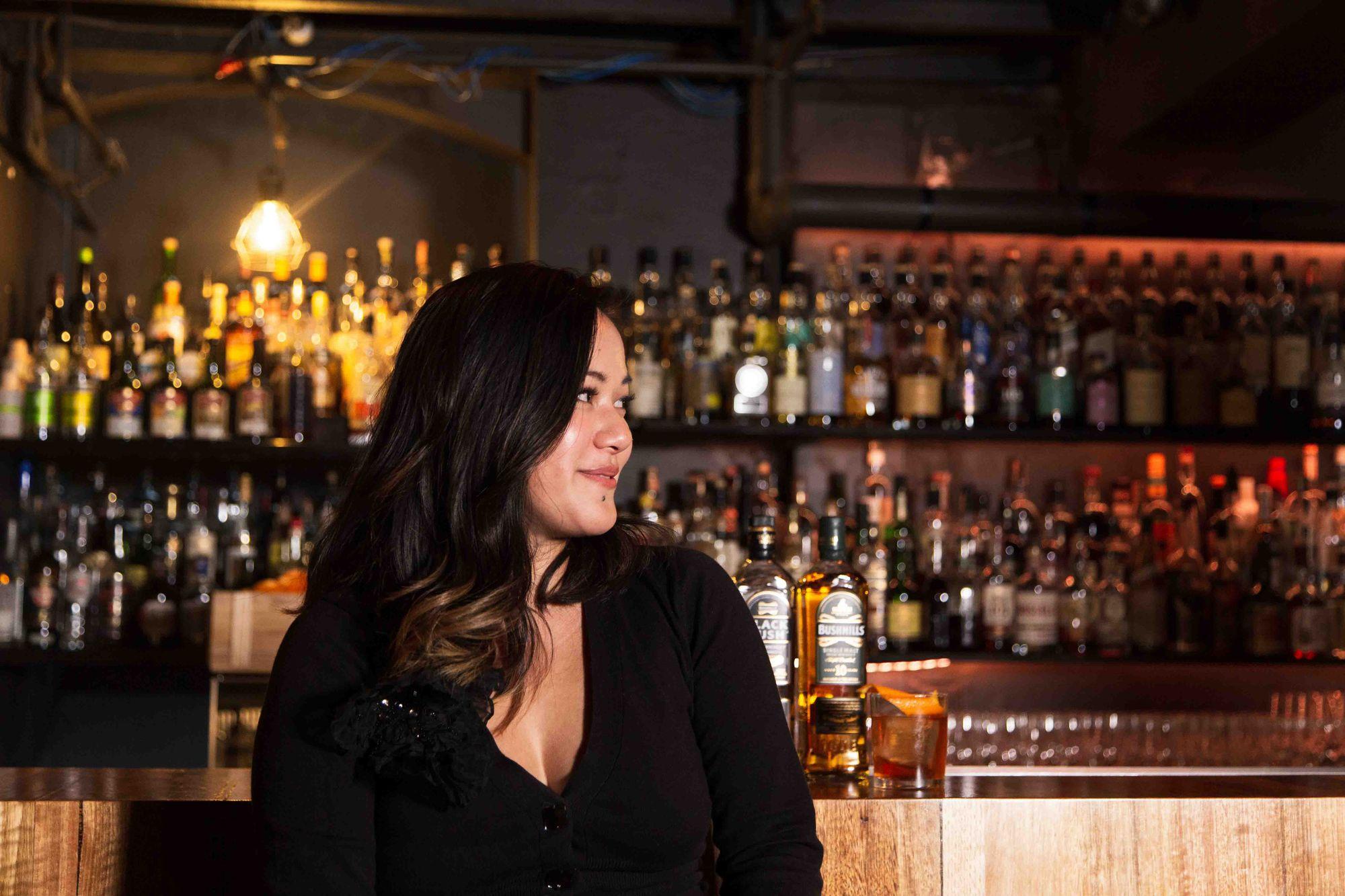 Chau Tran at Burrow Bar in Sydney. Photo: Boothby