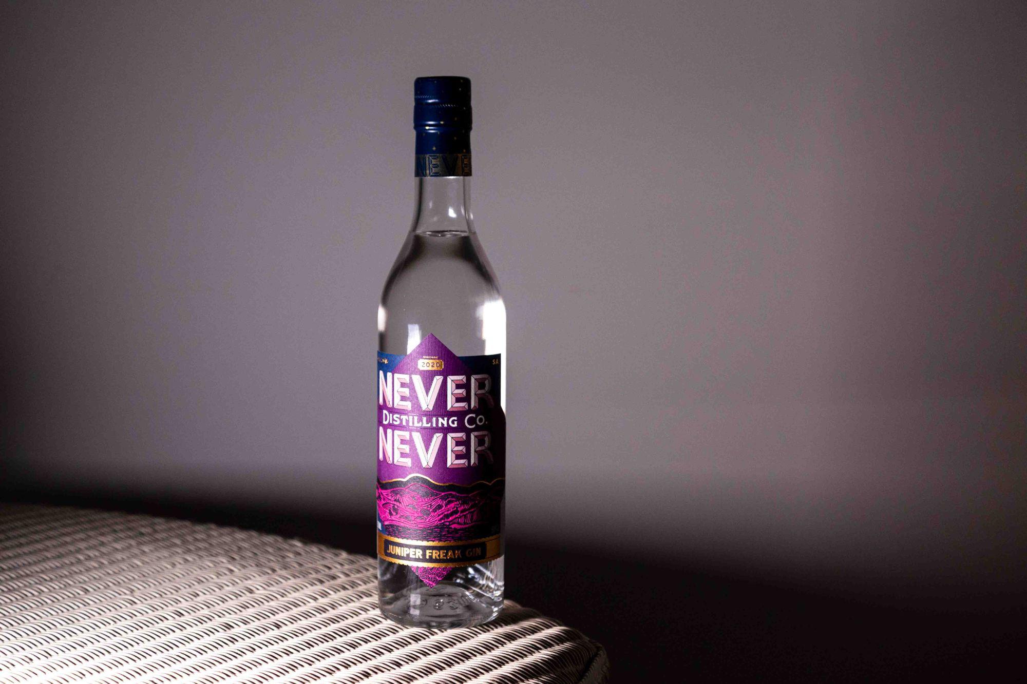 The Never Never Distilling Co. Juniper Freak Gin 2020. Photo: Boothby