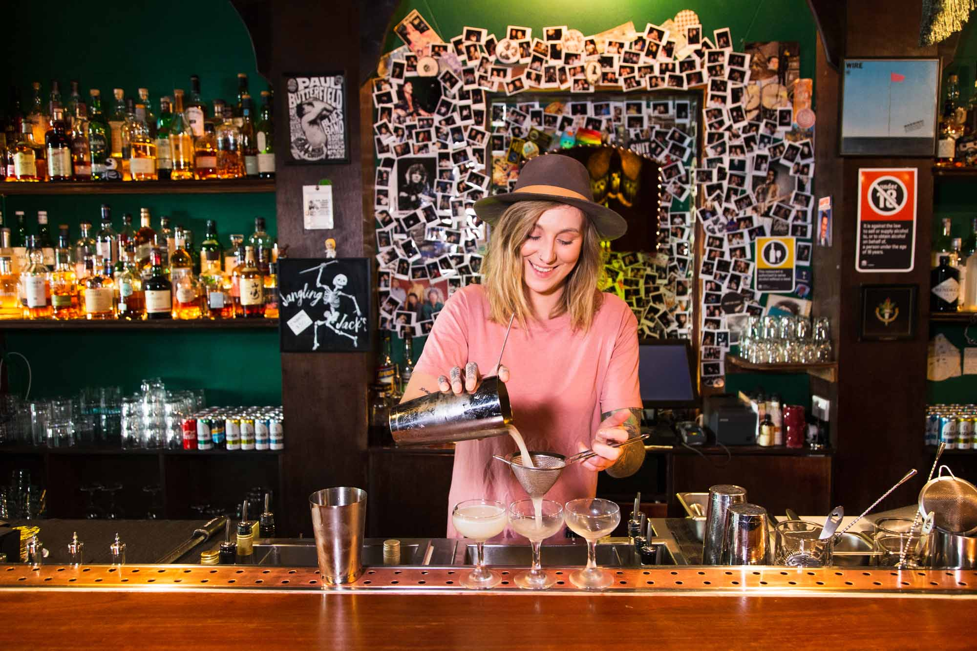 Rachael Merritt at Jangling Jack's in Sydney. Photo: Boothby