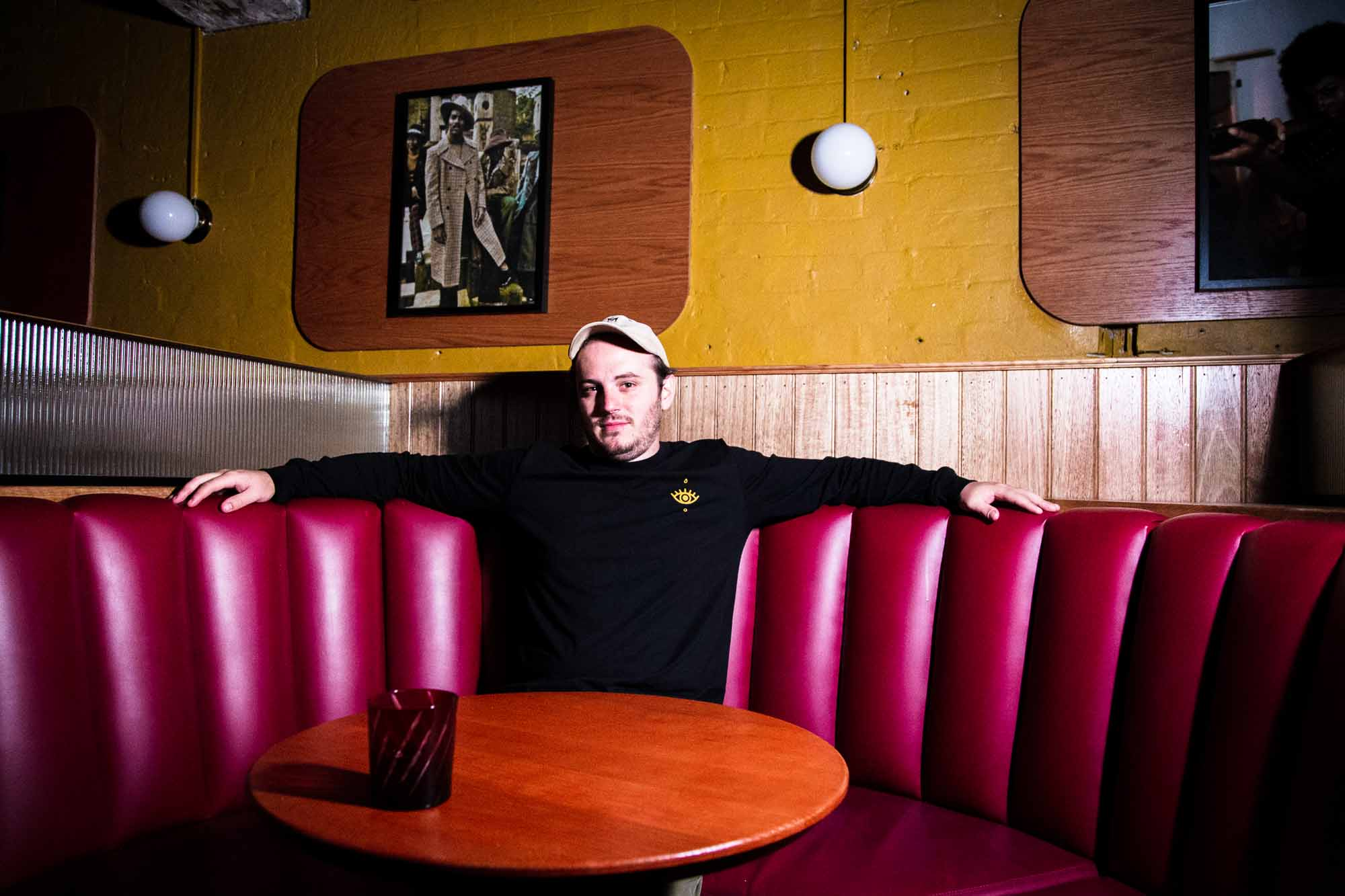 Bar manager Oliver Churcher at Double Deuce Lounge in Sydney. Photo: Boothby