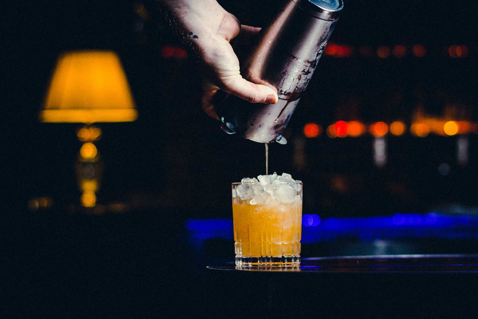 Cocktails are a primary focus at Memphis Slim's House of Blues. Photo: Talis Heggart Photography