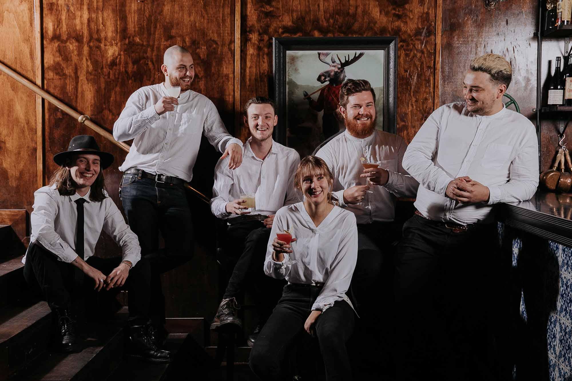 The Saville Row team. Photo: Supplied