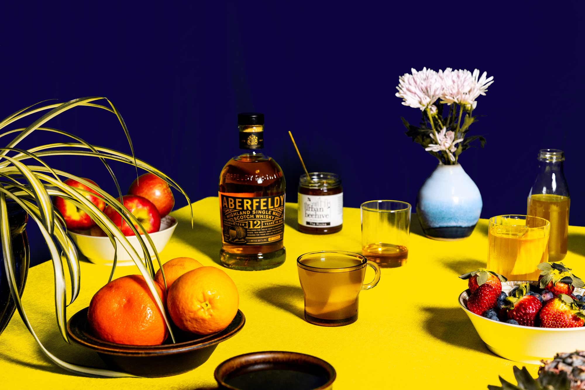 The Golden Hot Toddy is made with Aberfeldy 12. Photo: Boothby