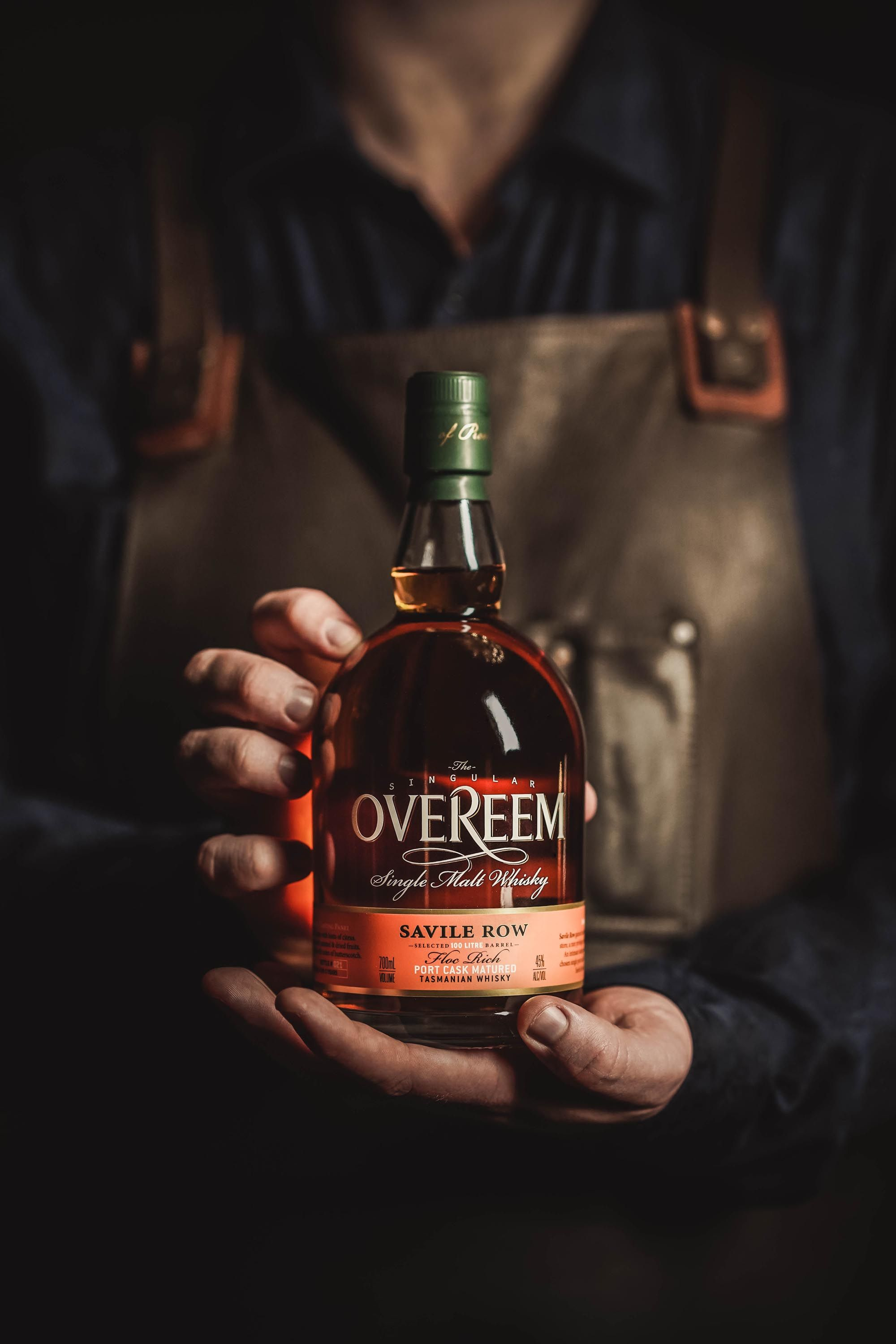 Savile Row's collaboration with Overeem. Photo: Supplied/Millie Tang